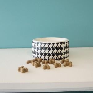 Bol en céramique noir et blanc
