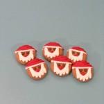 Biscuit pour chien Père Noël au beurre d'arachide