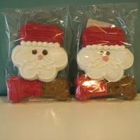 Biscuit pour chien Père Noël