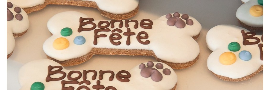 Cookie Bonne Fête for dog
