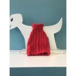 Chandail en tricot pour chien ou chat à col roulé